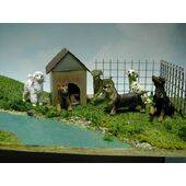 DOG-BASSET 1:12 1PC