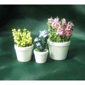 FLOWER POTS- 3pc Set Hyacinths