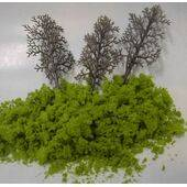 TREE KIT 2'' LIGHT GREEN 9+LFS