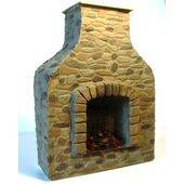 PATIO FIREPLACE 1:24 FIRPO-24