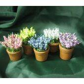 POTTED FLOWERS YELLOW FLRP-YL