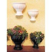 "FLOWER POTS-WHITE PLASTIC 3/8"" dia.10PC"