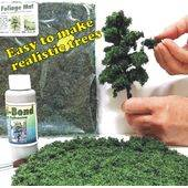 "FOLIAGE MAT (for trees) 7X8"" FLEXIBLE LINDEN GREEN FM-LGC"