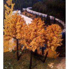 TREE-PREMADE 4'' AUTUMN 4PC