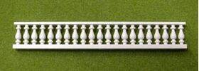 BALCONY RAIL 1:100/HO 62mm long x 2PC-BALS-8