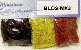 BLOSSOM 3 PK. of Burgundy, Marigold, Red