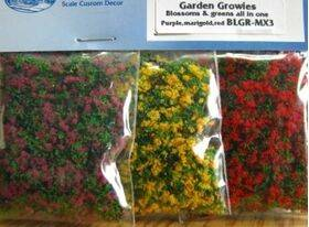 BLOSSOM GROWIES - Purple, Marigold & Red BLGR-MX3