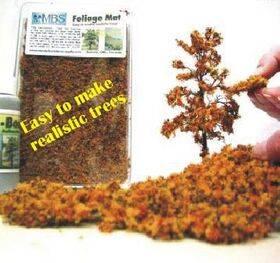 "FOLIAGE MAT (for trees) 7X8"" FLEXIBLE AUTUMN FM-AM"