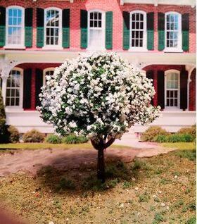 "TREE-PREMADE 2"" flowering-almond 4pc"