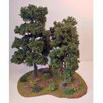 "Wargaming terrain, shown with 8""& 6"" trees"