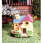 miniature house yellow