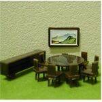 DININGROOM SET 1:100 11PC