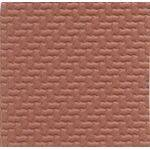 PATT SHT 7X12''INTERLOCK 1:48 Red-INTH-4RB