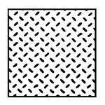 """TREAD PLATE-DIAMOND 7X12"""" 1:100 2PC"""