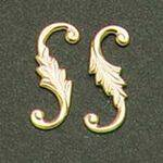 Brass Hardware 4pc S-Hook brass
