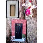 Fairy House Kit Brick with transom door