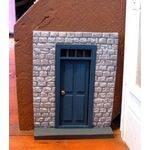 Fairy House Kit Block with transom door
