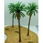 TREE-PALM 4-1/4'' 110mm TALL PLASTIC 5pc
