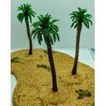 TREE-PALM 2.75'' 70mm TALL PLASTIC 5pc