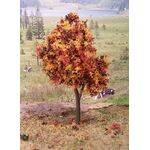 TREE-PREMADE 4'' AUTUMN 4PC