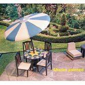 Patio G Scale painted with chairs (sold separately)