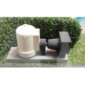used as a pool pump