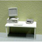 COMPUTER & PRINTER 1:24 4PC