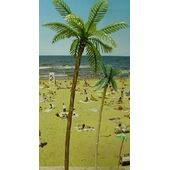"TREE PALM 8.5"" TALL PLASTIC 2PC"