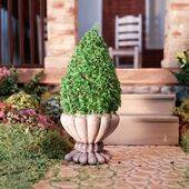 TOPIARIES 1:24 Grey 1PC