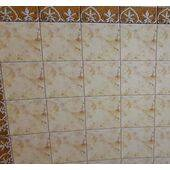 "PAPER-3/4"" SQ. TILE FLOOR 11X16 F06-50"