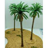 TREE-PALM 4-1/4'' 110mm TALL PLASTIC 5pc