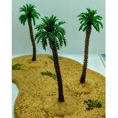 TREE-PALM 2.75'' 70mm TALL PLASTIC 5pc
