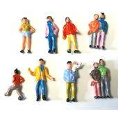 FIGURES PAINTED PEOPLE 10pc HO SCALE PEP-HO