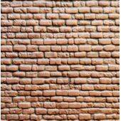 "PATT SHT 7X24"" RUSTIC BRICK-BLOC RBL-2RB shown painted"