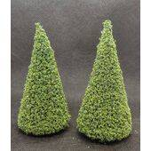 TREE-3.5'' TALL EVERGREEN 2PC