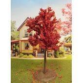 TREE-PREMADE 5.5'' AUTUMN RED 2PC