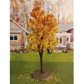 TREE-PREMADE 5.5'' AUTUMN YELLOW 2PC