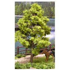 TREE-PREMADE 6'' LIGHT GREEN 2PC