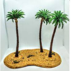 TREE-PALM 5.5'' 140mm TALL PLASTIC 5pc