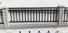 "FENCE DECORATIVE 1:48 O Gauge 39"" FEN-4801"