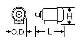 MOTOR-PLASTIC 1/4'' OD 3PC-M-2P