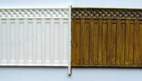 FENCE VERTICAL PRIVACY 1:48 O Gauge FEN-410