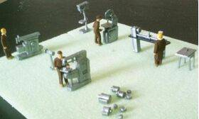 FIGURES-PAINTED 1:48 WORKERS 6PC