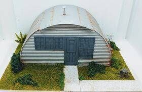makes a great Quonset hut roof and siding