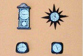CLOCKS ASSORTED 1:48/1:100 4PC