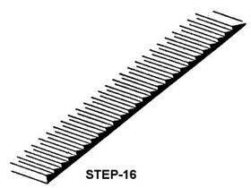 "STEPS/LOUVERS 3"" x 1 1/4"" 1:200 2PC STEP-16"