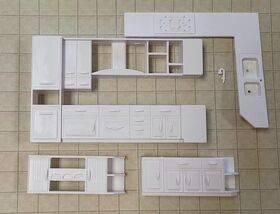 half scale kitchen