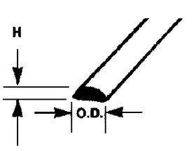 ROD-HF-STY.080X10''10PC MRH-80-90882