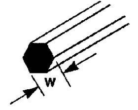ROD-HEX-STY.040X10''10P MRX-40-90873