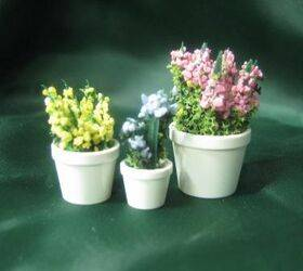FLOWER POTS- 3pc Set Hyacinths